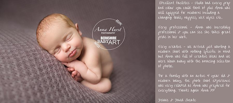 Wokingham Newborn Baby Photographer