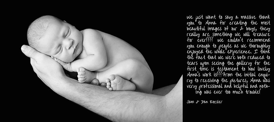 Winnersh Newborn Baby Family Photographer
