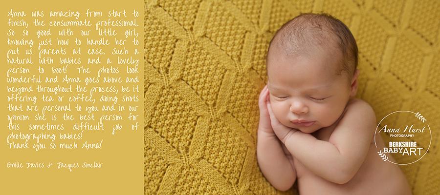 Caversham Newborn Baby Photographer