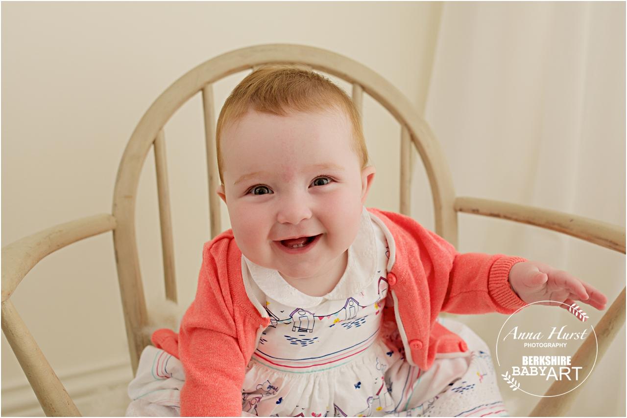 Reading Baby Photographer